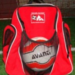 MSA Back-pack in red