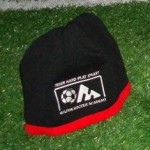 MSA fleece toque in black